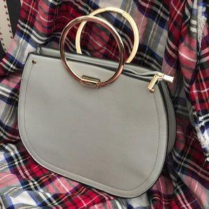 Melie Bianca Grey Handbag